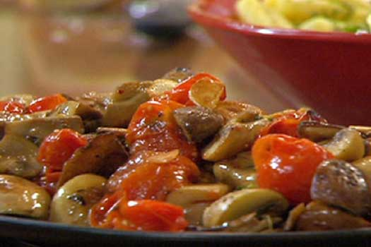 Village mushrooms , Quality  Greek Traditional Food by Sirtaki