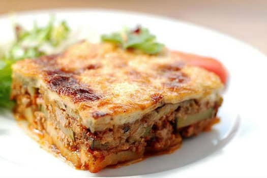 Mousaka, Quality  Greek Traditional Food by Sirtaki