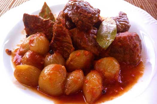 Stifado , Quality  Greek Traditional Food by Sirtaki